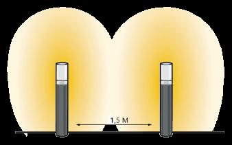 Efekt świetlny Barite 40